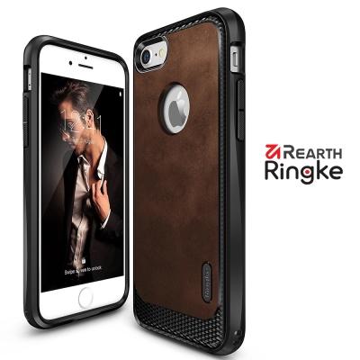 RINGKE iPhone 7 (4.7) Flex S 纖薄皮革紋理背蓋防撞手...