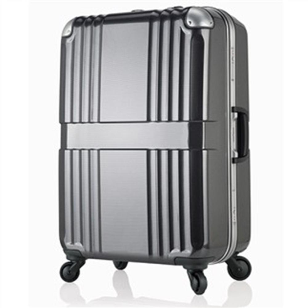 日本LEGEND WALKER 6020-68-28吋鋁框輕量行李箱碳纖黑
