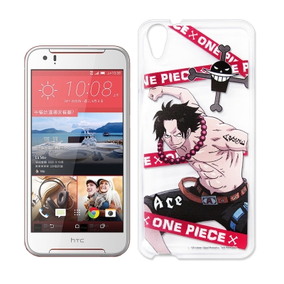 授權正版航海王 HTC Desire 830 透明軟式手機殼(封鎖艾斯)