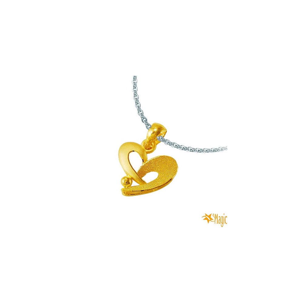Magic魔法金 交心黃金墜 (約0.55錢)