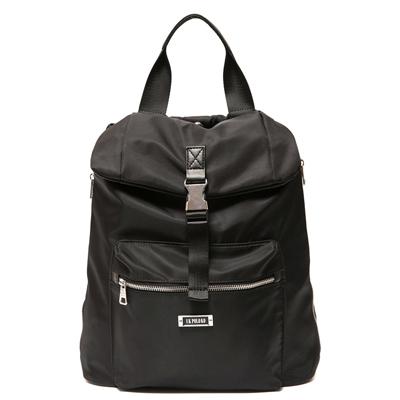 ANGIMI SHOP 後背手提韓版熱銷雙造型包-黑色
