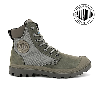 Palladium Pampa sport CUFF WPN靴-男-灰綠