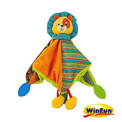 WinFun 小獅子手偶安撫巾
