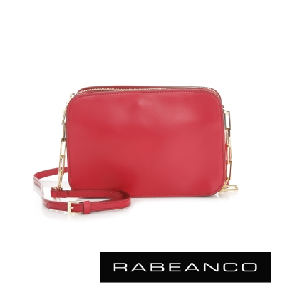 RABEANCO LUXURY極致奢華系列鍊帶包 - 紅