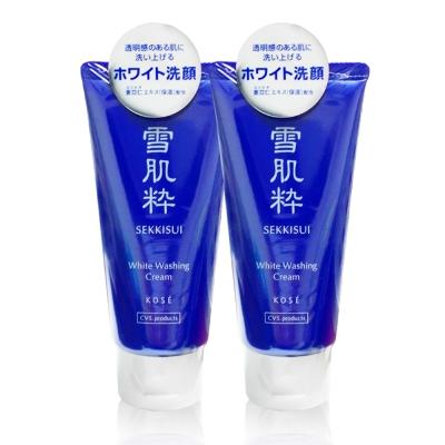 KOSE高絲-雪肌粹洗面乳80g-2入組