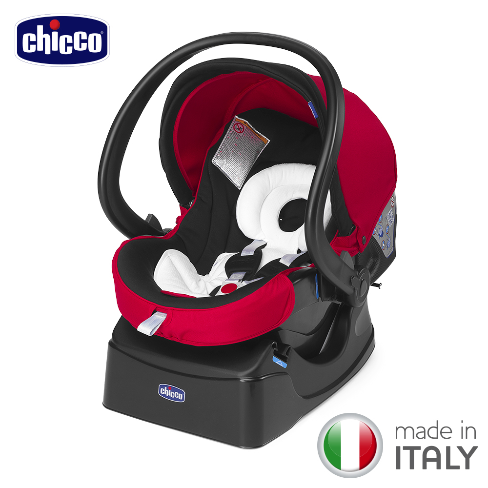 chicco-Auto-Fix Fast手提汽座-帥氣紅 product image 1