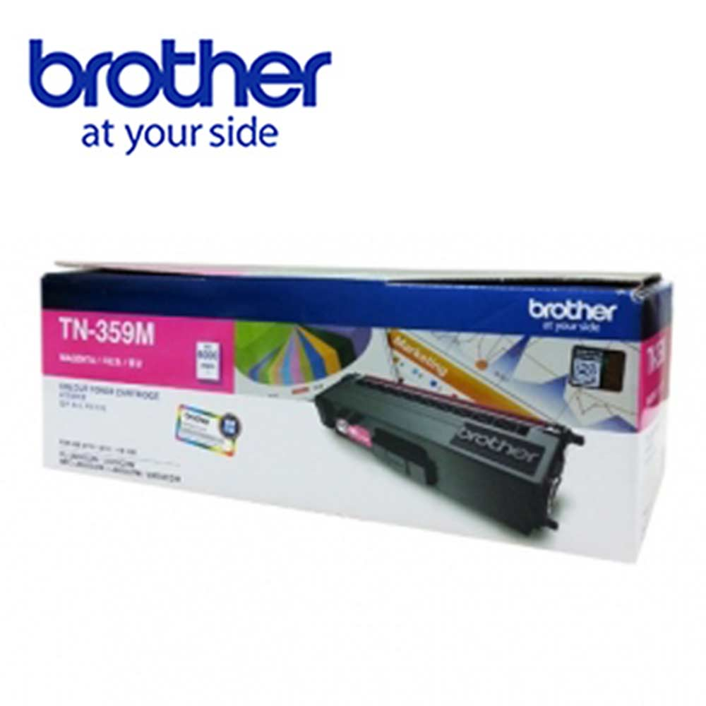 【福利品】Brother TN-359M 原廠紅色高容量碳粉匣 @ Y!購物