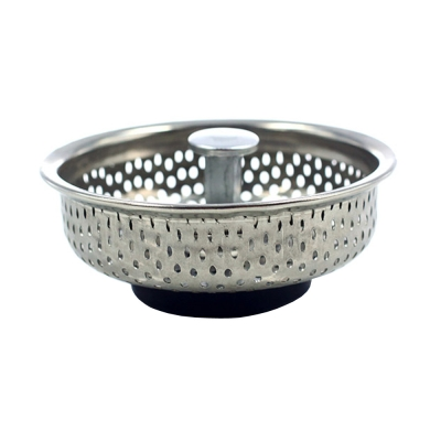 PUSH! 廚房用品 外徑85MM內徑80MM深度20MM 人體工學提把式不鏽鋼流理台水槽