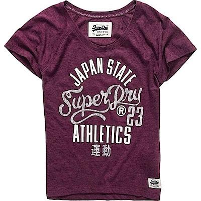 SUPERDRY 極度乾燥 女 T恤 紅色 0726