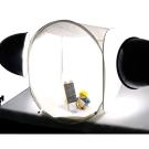45cm攝影棚(45cm+30W雙燈) 防撞包套組-附雙色珠寶板