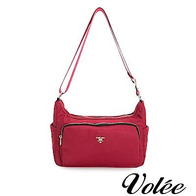 Volee飛行包 - 好旅行系列隨形肩背包-美國紅