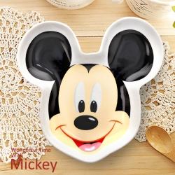 迪士尼Disney 可愛微笑造型陶瓷盤/4款任選(8H)