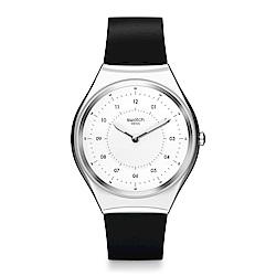 Swatch 超薄金屬系列 SKINNOIRIRON 極簡黑