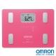 OMRON歐姆龍體重體脂計HBF-216粉紅色