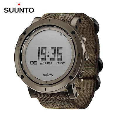 SUUNTO精湛工藝精品典藏腕錶(編織錶帶)-Essential