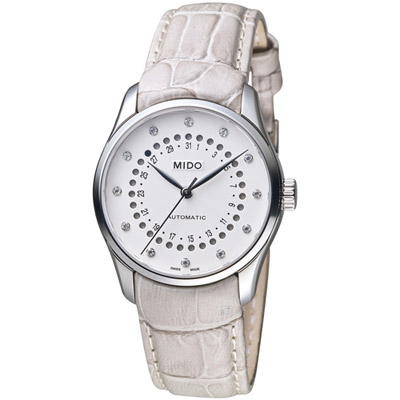 MIDO美度Belluna雋永系列日期窗腕錶(M0242071603600)-33mm