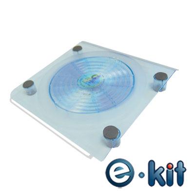 逸奇 E-kit  18mm強力大風扇筆電散熱墊 _ CKT-NC01