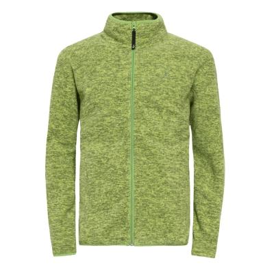 【hilltop山頂鳥】男款ZiSofit保暖纖維刷毛外套H22MT5-綠