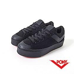 【PONY】PRO 系列-經典復古鞋-女性-黑