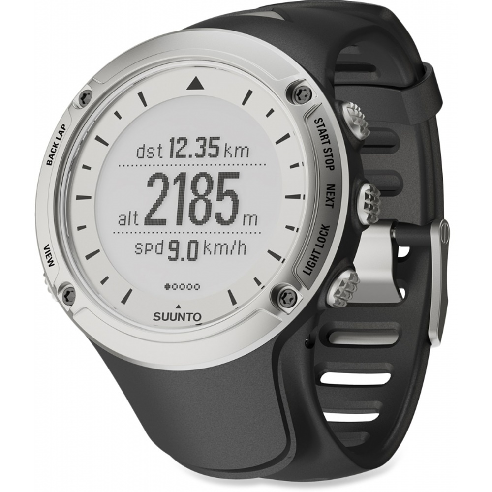 SUUNTO AMBIT GPS電腦腕錶 白