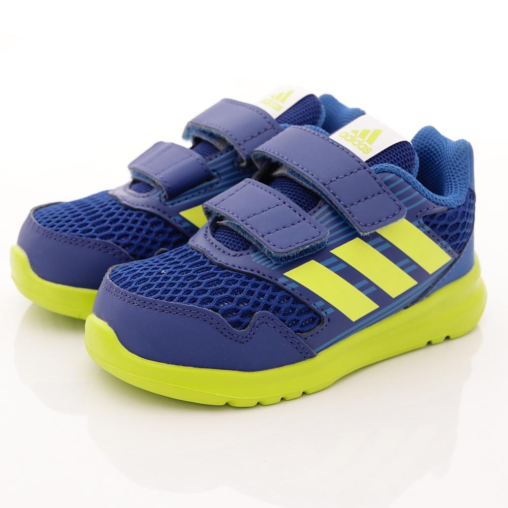 adidas童鞋超透氣學步款SEI1082藍寶寶段HN