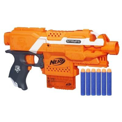 孩之寶Hasbro NERF系列 兒童射擊玩具 殲滅者自動衝鋒槍 A0200