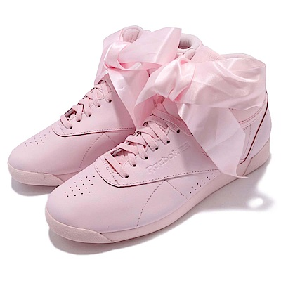 Reebok 休閒鞋 F/S Hi Satin Bow 女鞋