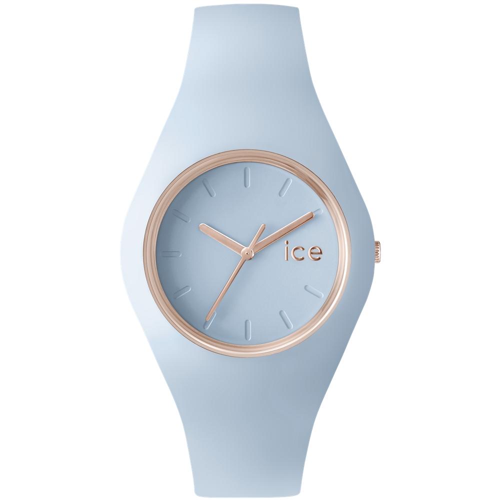 Ice-Watch 粉彩系列 甜美糖果腕錶-粉藍/43mm