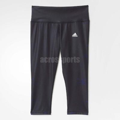 愛迪達 Adidas Go To Gear 內搭褲 女款 黑色