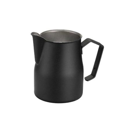 義大利MOTTA 2475專業拉花杯 750ml 黑色(HC7082)