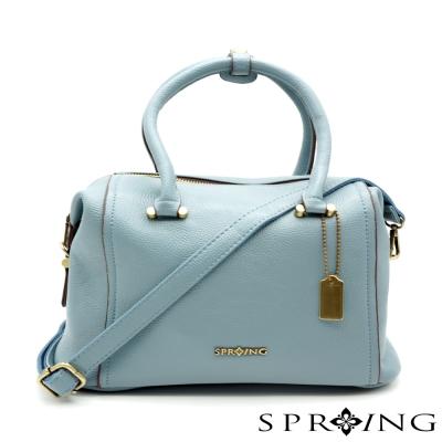 SPRING-Aurora歐若拉2way枕頭包-灰藍