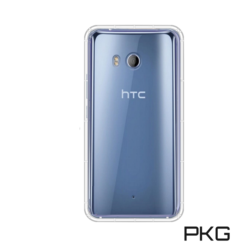 PKG HTC U11 Plus 超透360空壓氣墊