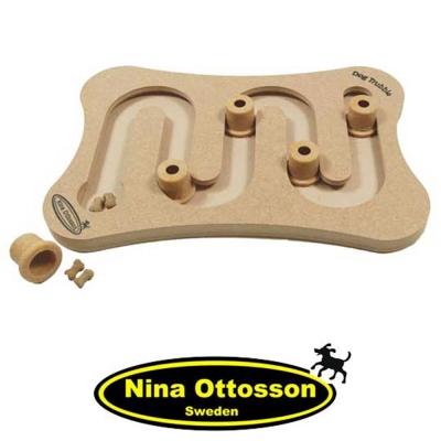 瑞典Nina Ottosson 狗狗益智玩具 DogTrubble 狗狗髮夾彎車道組