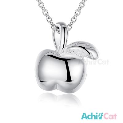 AchiCat 925純銀項鍊 可愛蘋果