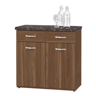 CASA卡莎 羅娜爾2.7尺石面餐櫃/收納櫃下座