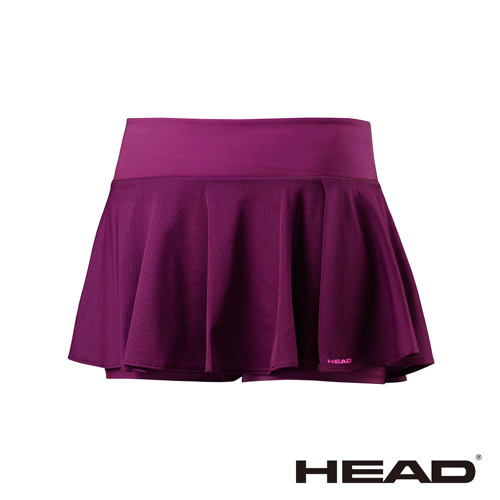 HEAD 吸濕排汗 女 休閒 運動褲裙-紫 814397