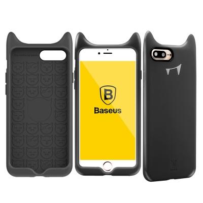 Baseus倍思 i7P/i8P 小惡魔柔軟矽膠手機殼