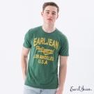 Earl Jean 美式文字圖T恤-軍綠-男