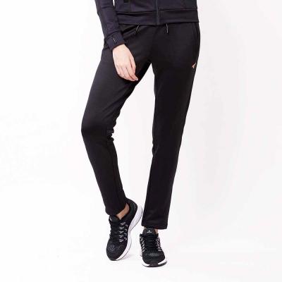 AIRWALK-女-休閒時尚針織長褲-黑