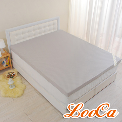 LooCa 經典超透氣5cm全記憶床墊-加大