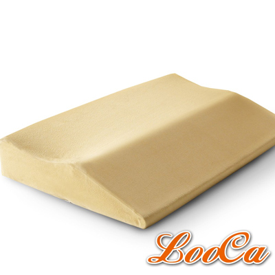 LooCa 類麂皮護肩寶背記憶枕 2入