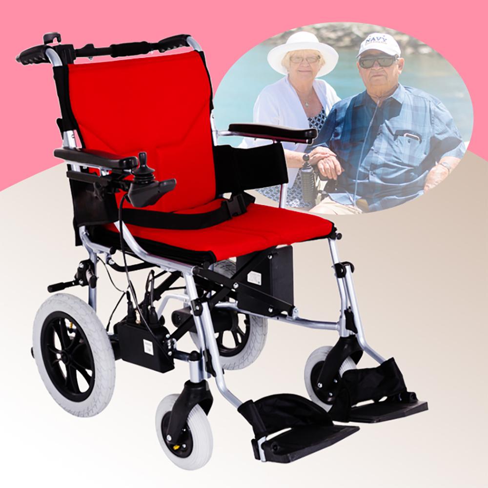 Suniwin 尚耘國際電動折疊代步車W600/ 極輕/ 快速折疊/ 出國專用