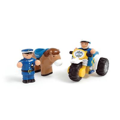 英國【WOW Toys 驚奇玩具】巡邏騎警好兄弟 (強尼與米奇)