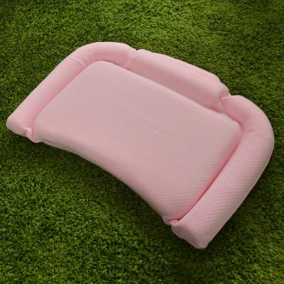 義大利Fancy Belle 多功能舒眠透氣兒童記憶枕-粉