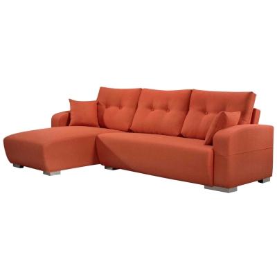 Boden-米蘭達厚亞麻布L型沙發-左右型可選