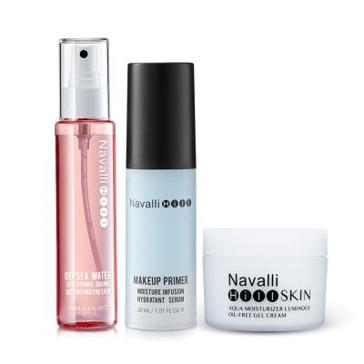 NH專業彩妝-無油保濕清爽嫩肌效果組