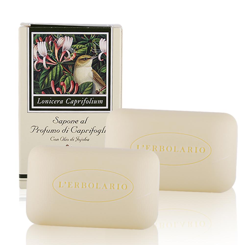 L-ERBOLARIO 蕾莉歐 忍冬植物香氛皂 (100g)X2入
