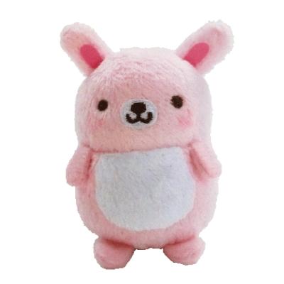UNIQUE 動物樂園沙包小公仔。粉紅兔