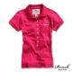 ROUSH 女生8顆釦合身版polo衫 (4