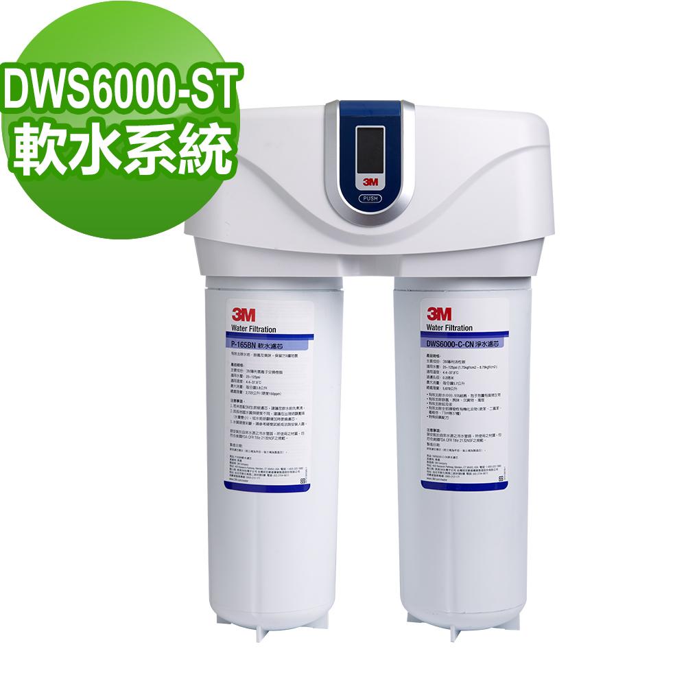 3M 智慧型雙效淨水系統(DWS6000-ST)